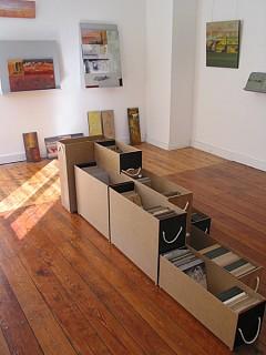 Ansicht Ausstellung        Buch &Kunst